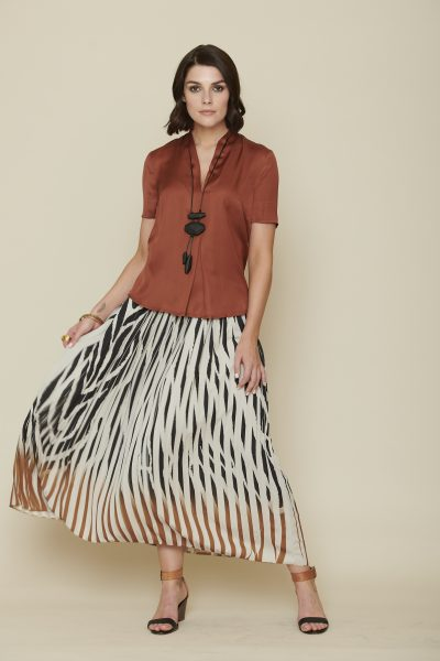 Blouse + S20127 | Skirt + S20160